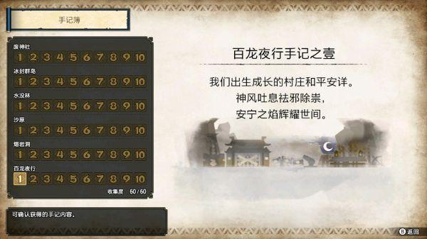 """《怪物猎人崛起》全手记文本内容一览 游戏攻略"""""""