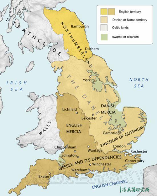 """《全面战争传奇不列颠的王座》阿尔弗雷德大帝的历史 游戏攻略"""""""