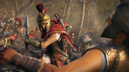 """《刺客信条奥德赛》两肋插刀任务视频解说 游戏攻略"""""""