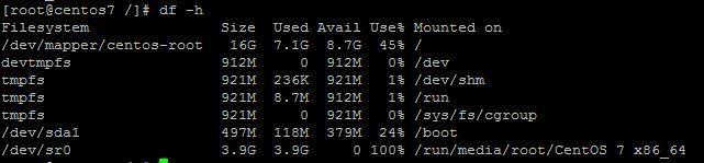 """Linux系统怎么查看电脑的磁盘空间?"""""""